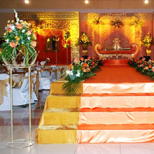 Elegant Wedding Stage decoration by KoshaUAE