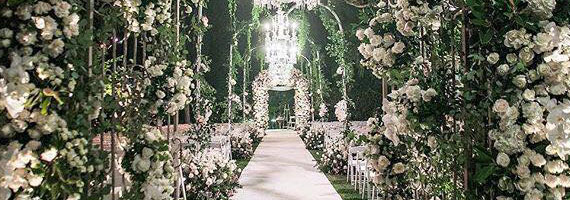 Kosha uae wedding planner entrance junglespirit Gallery